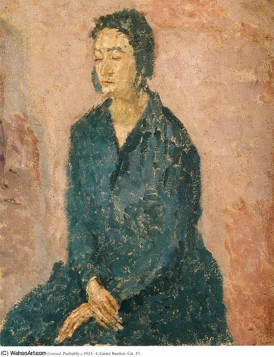 untitled (4560) by Gwen John (1876-1939, United States)