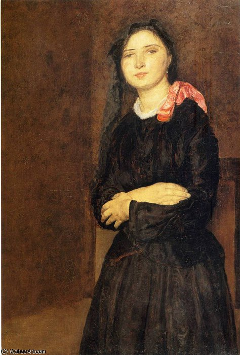untitled (6771) by Gwen John (1876-1939, United States) | Museum Quality Reproductions | ArtsDot.com