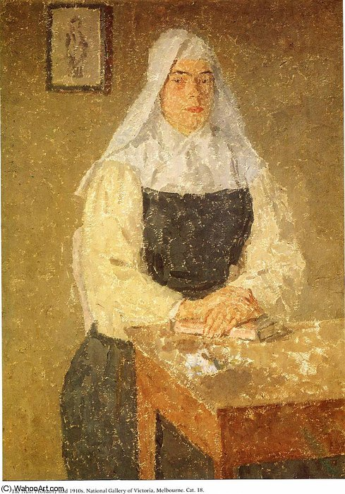 untitled (9957) by Gwen John (1876-1939, United States)