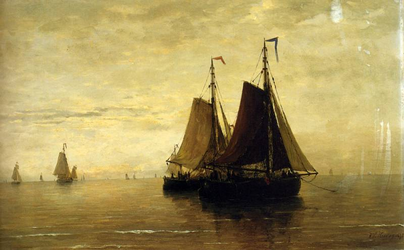untitled (3730) by Hendrik Willem Mesdag (1831-1915, Netherlands)