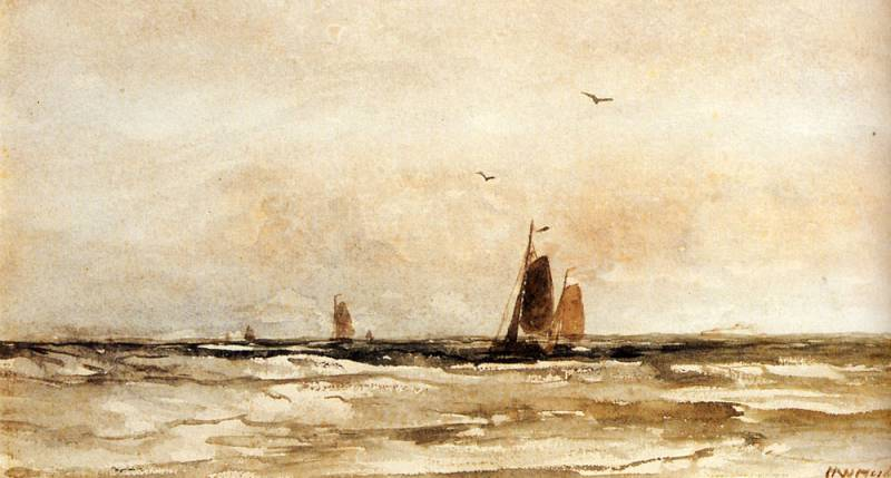 untitled (6753) by Hendrik Willem Mesdag (1831-1915, Netherlands)