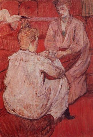 untitled (6640) by Henri De Toulouse Lautrec (1864-1901, France)