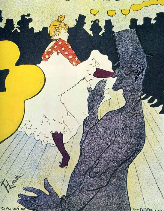 untitled (6490) by Henri De Toulouse Lautrec (1864-1901, France)