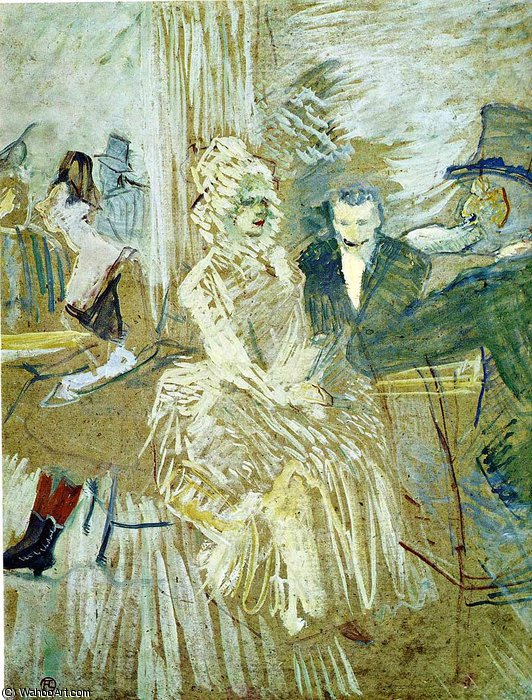 untitled (1121) by Henri De Toulouse Lautrec (1864-1901, Second French Empire)