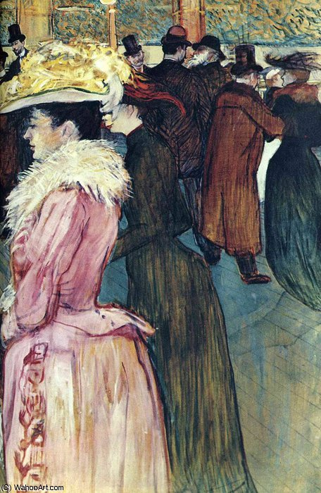 untitled (2699) by Henri De Toulouse Lautrec (1864-1901, France)