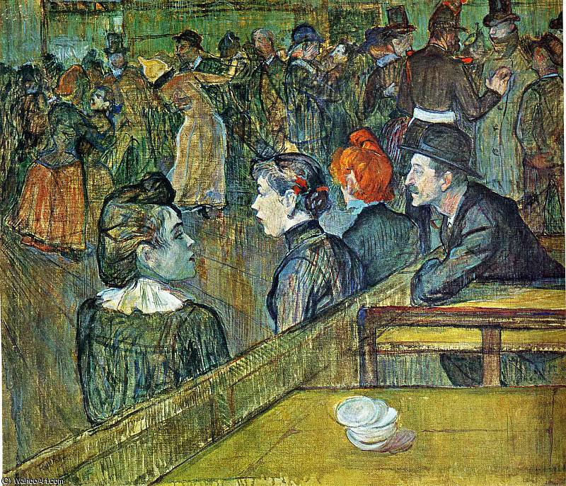 untitled (7329) by Henri De Toulouse Lautrec (1864-1901, France)