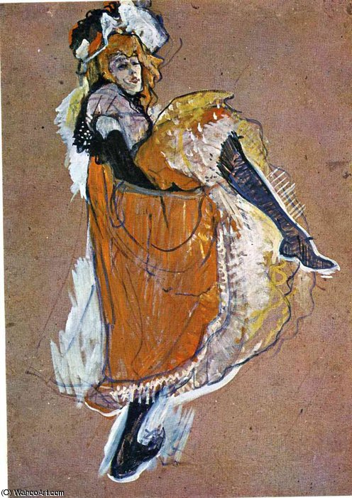 untitled (6996) by Henri De Toulouse Lautrec (1864-1901, France)