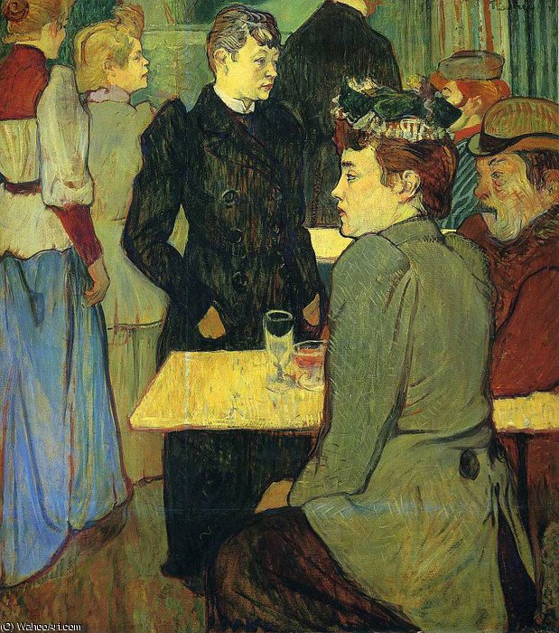 untitled (114) by Henri De Toulouse Lautrec (1864-1901, France)