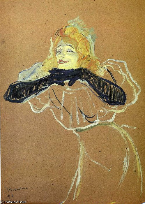 untitled (5658) by Henri De Toulouse Lautrec (1864-1901, France)
