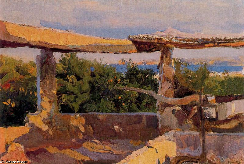 untitled (5891) by Joaquin Sorolla Y Bastida (1863-1923, Spain)