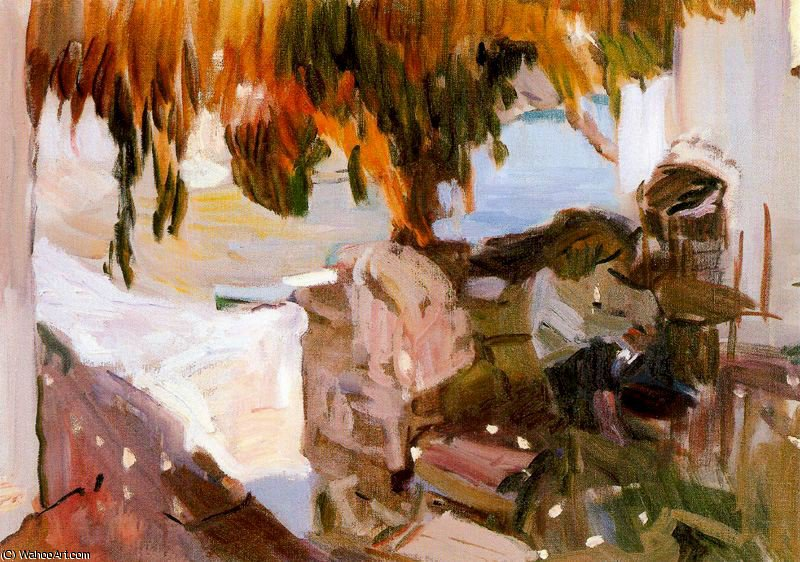 untitled (4644) by Joaquin Sorolla Y Bastida (1863-1923, Spain)