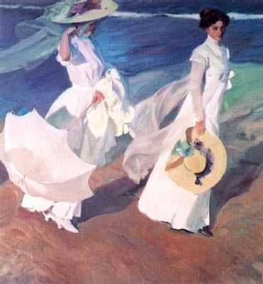 untitled (1370) by Joaquin Sorolla Y Bastida (1863-1923, Spain)