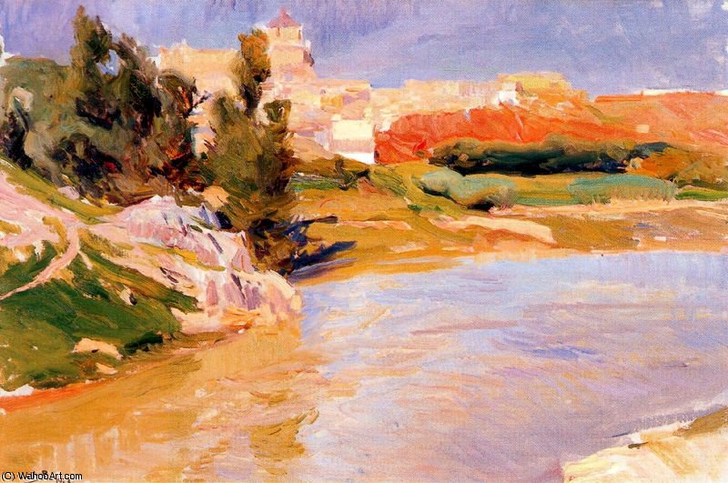 untitled (6071) by Joaquin Sorolla Y Bastida (1863-1923, Spain)
