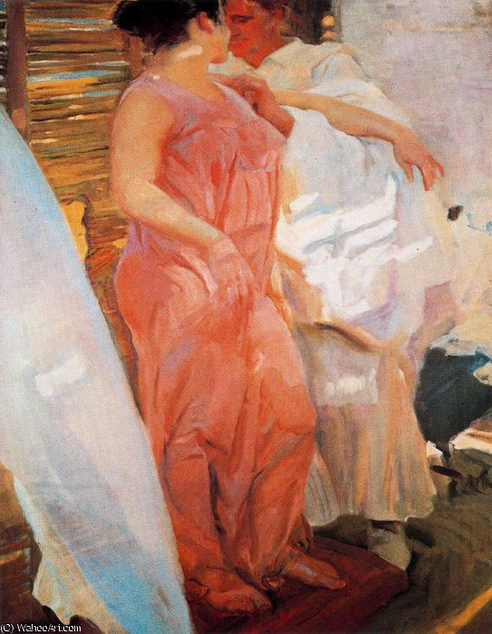 untitled (8467) by Joaquin Sorolla Y Bastida (1863-1923, Spain)