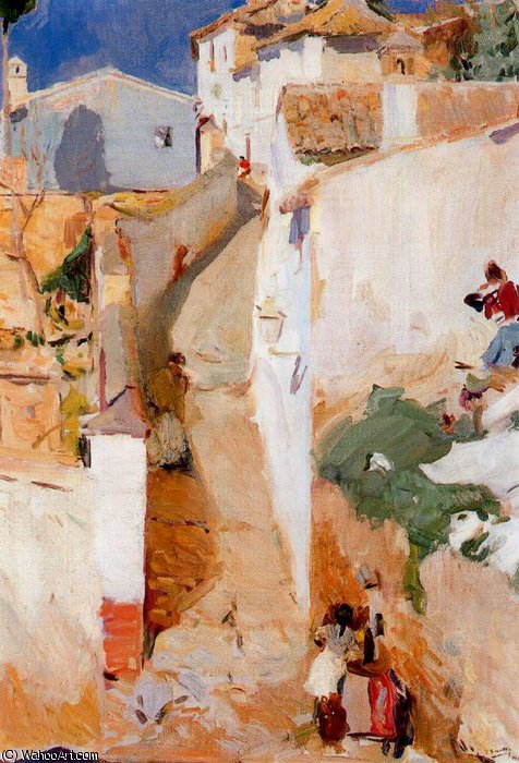 untitled (8360) by Joaquin Sorolla Y Bastida (1863-1923, Spain)