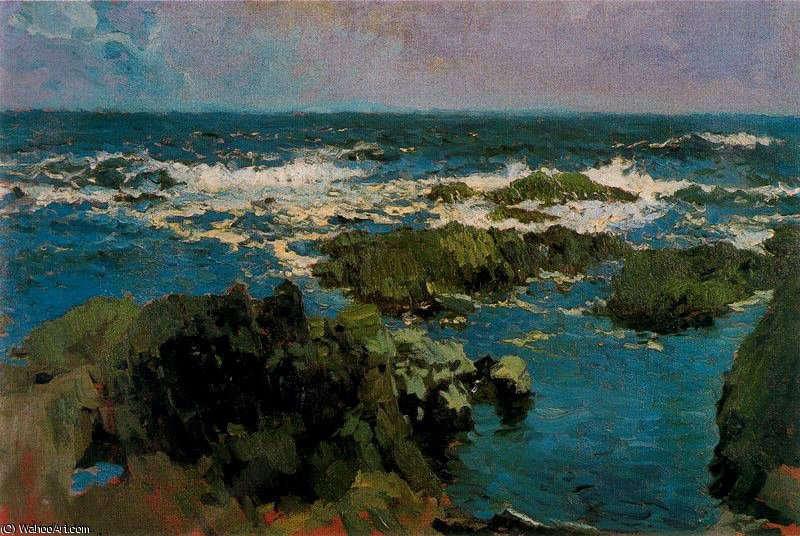 untitled (2634) by Joaquin Sorolla Y Bastida (1863-1923, Spain)