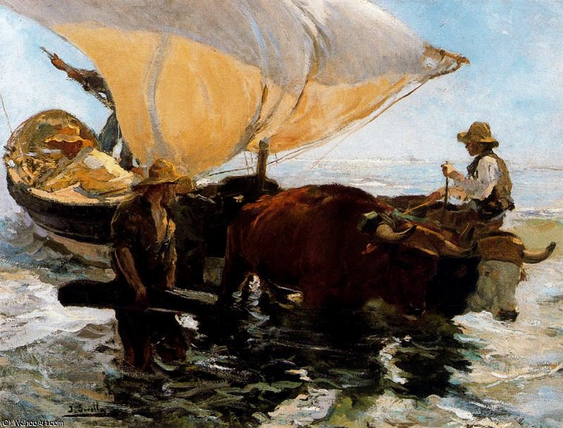 untitled (9089) by Joaquin Sorolla Y Bastida (1863-1923, Spain)