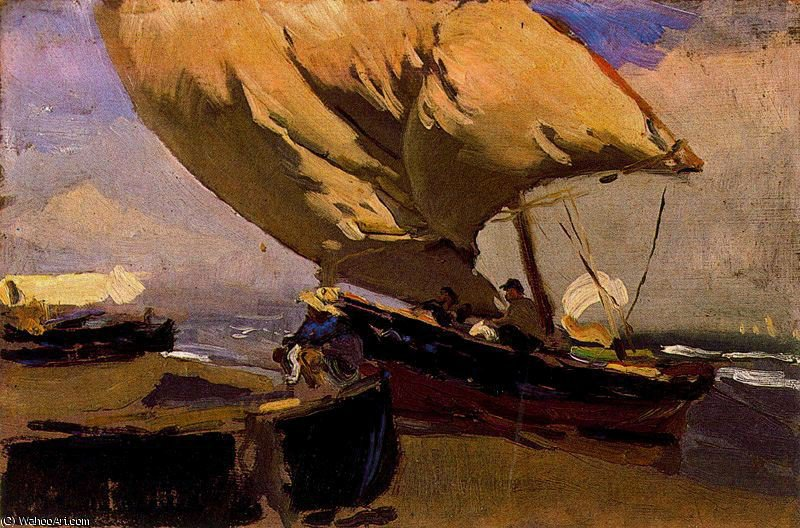 Order Museum Quality Reproductions : untitled (1991) by Joaquin Sorolla Y Bastida (1863-1923, Spain) | ArtsDot.com