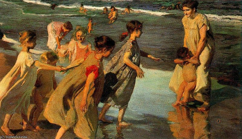untitled (892) by Joaquin Sorolla Y Bastida (1863-1923, Spain)