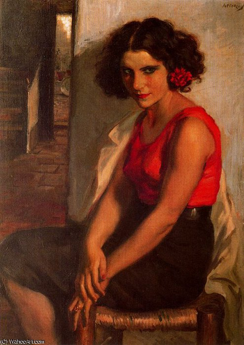 untitled (485) by Jorge Apperley (George Owen Wynne Apperley) (1884-1960, United Kingdom)