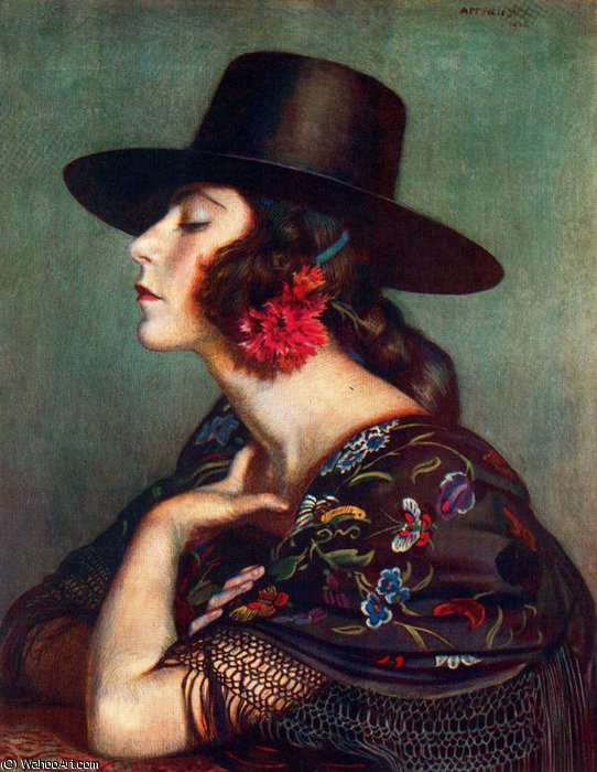 untitled (6648) by Jorge Apperley (George Owen Wynne Apperley) (1884-1960, United Kingdom)