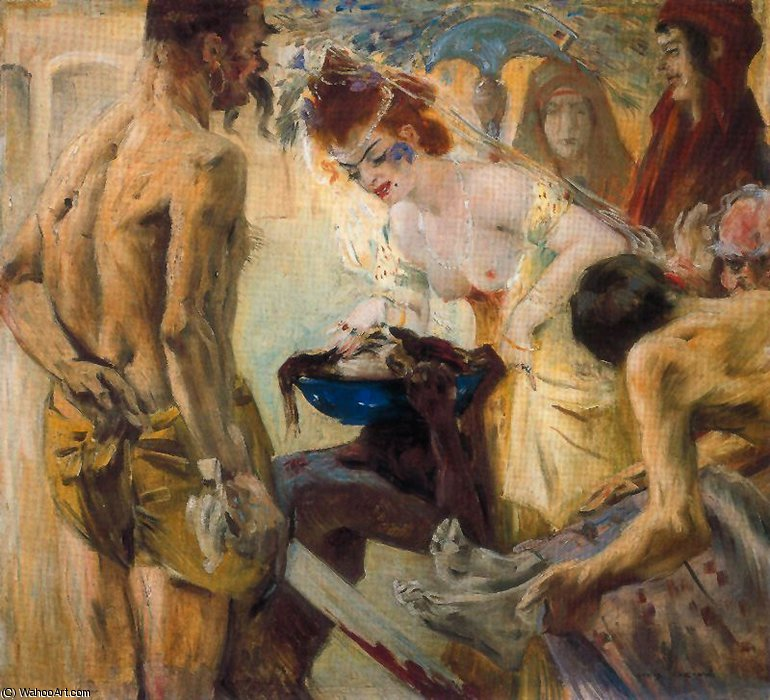 untitled (5492) by Lovis Corinth (Franz Heinrich Louis) (1858-1925, Netherlands)