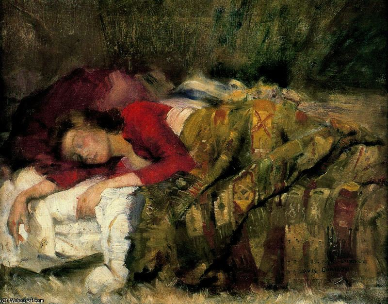 untitled (4501) by Lovis Corinth (Franz Heinrich Louis) (1858-1925, Netherlands)