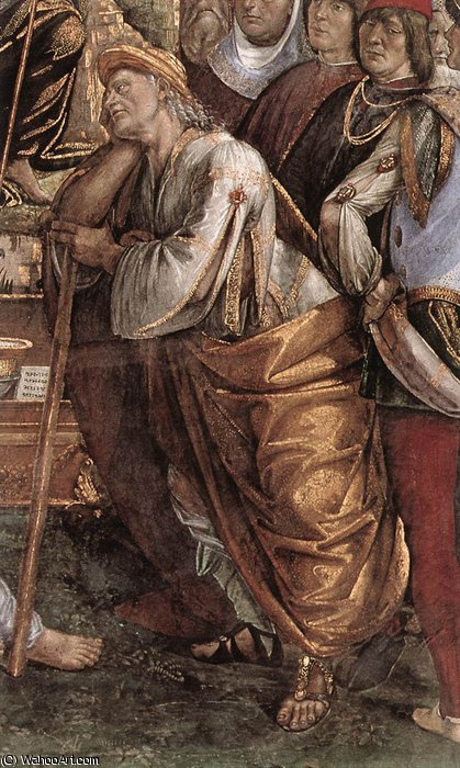 moses by Luca Signorelli (1450-1523, Italy)
