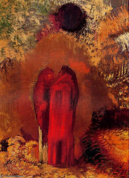 untitled (8627) by Odilon Redon (1840-1916, France) | Museum Quality Reproductions | ArtsDot.com