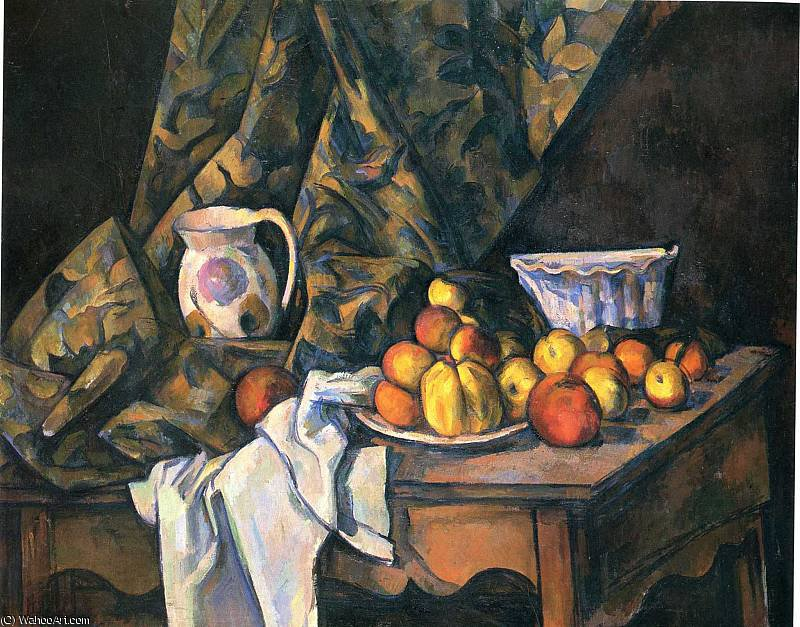 Order Museum Quality Reproductions : untitled (8433) by Paul Cezanne (1839-1906, France) | ArtsDot.com