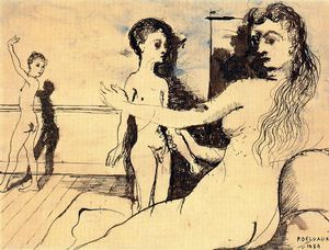 Paul Delvaux - untitled (1648)
