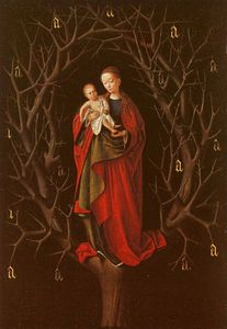 Petrus Christus - Our Lady of the Barren Tree