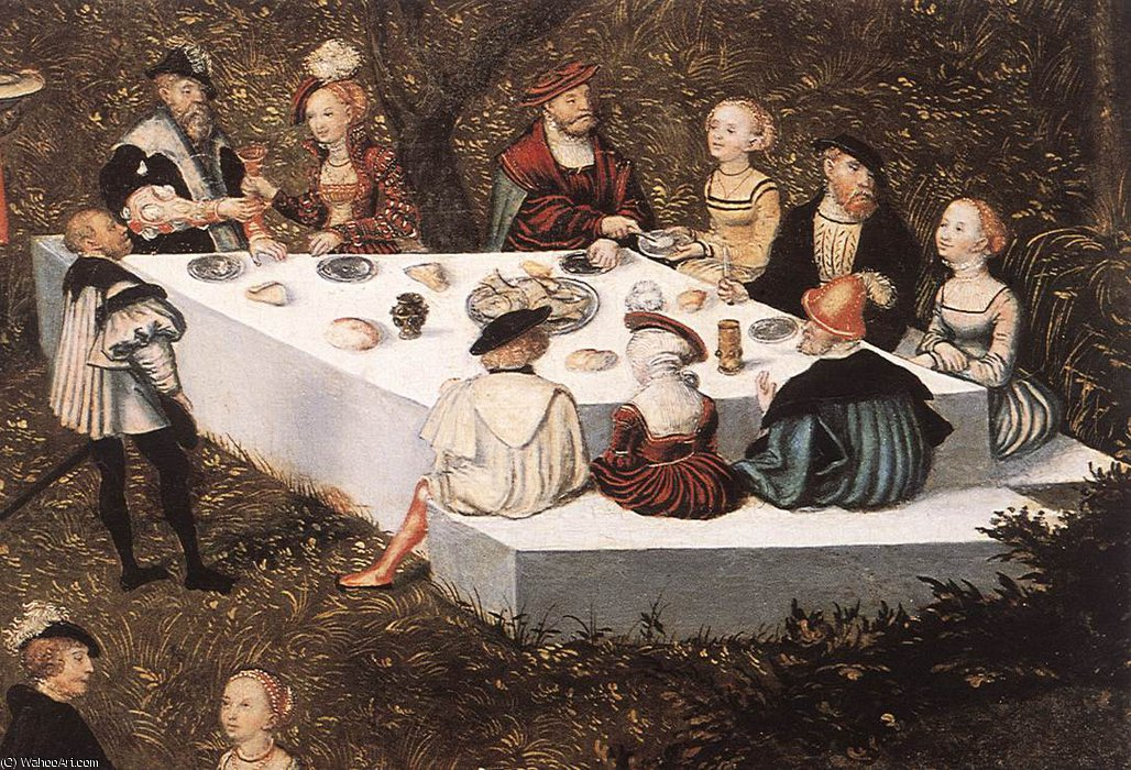 Fountain of Youth (detail)6 by Lucas Cranach The Elder (1472-1553, Germany)
