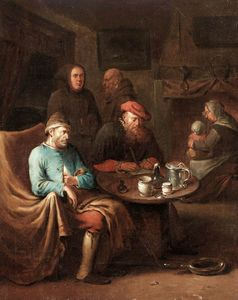 Egbert Van Heemskerck Ii - Visit of the Doctor