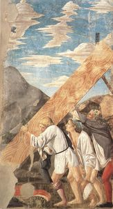 Piero Della Francesca - Burial of the Wood