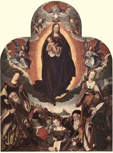 Jan Provoost - The Coronation of the Virgin