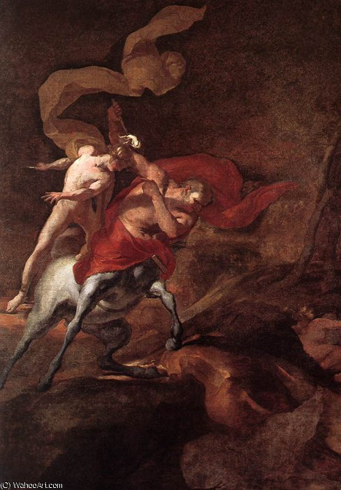 The Education of Achilles by Chiron by Pierre Puget (1620-1694, France)