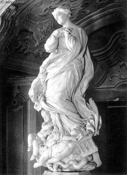Immaculate Conception by Pierre Puget (1620-1694, France)