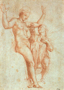 Raphael (Raffaello Sanzio Da Urbino) - Psyche Offering Venus the Water of Styx
