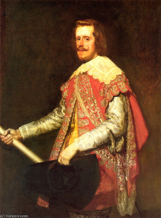 Philip IV at Fraga by Diego Velazquez (1599-1660, Spain)