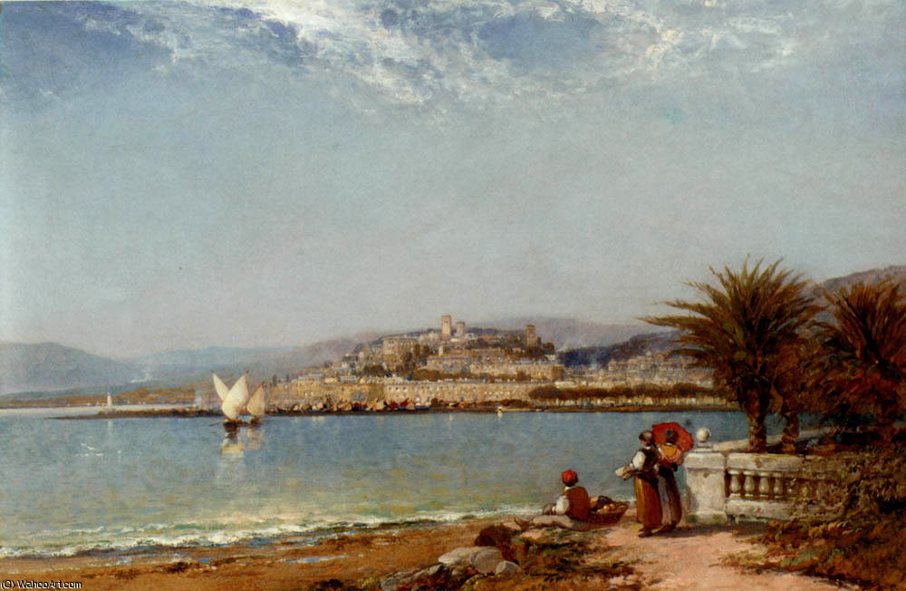 Cannes in the riviera by Arthur Joseph Meadows | Art Reproduction | ArtsDot.com