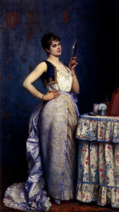Auguste Toulmouche - Preparing for the ball