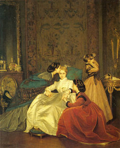 Auguste Toulmouche - The reluctant bride