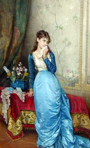 Auguste Toulmouche - August the letter