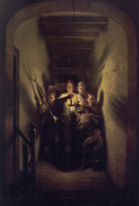 Order Museum Quality Reproductions : The night alarm the advance by Charles West Cope (1811-1890, United Kingdom) | ArtsDot.com