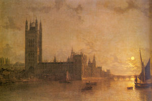 Henry Pether - Westminster abbey the hou..