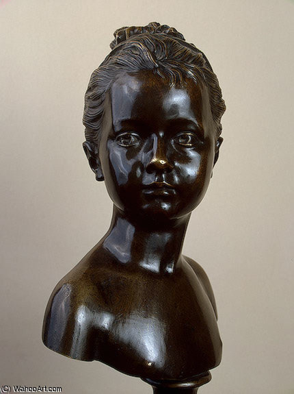 Louise Brogniart after, 1777 by Jean Antoine Houdon (1741-1828, France)