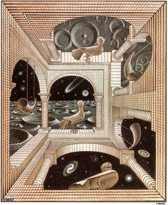 Maurits Cornelis Escher - World II