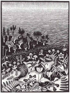 Maurits Cornelis Escher - Third Day of the Creation