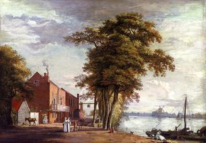 Paul Sandby - Sanby paul the spread eagle ta..